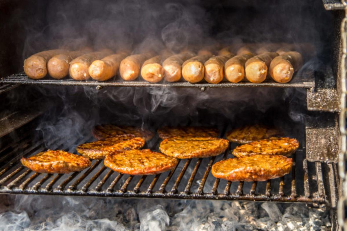 BBQ en menukaart